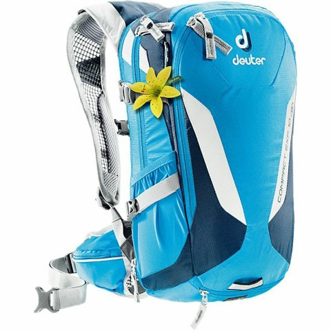 Купить Рюкзак DEUTER 2017 Compact EXP 10 SL (3200115/3312)turquoise-midnight